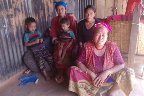 Nema Chhiring Tamang's family