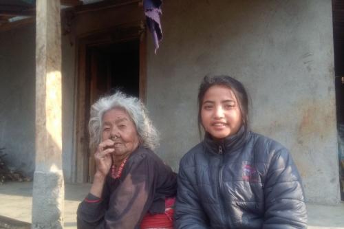 Sumana Home visit-Kalika School (2)