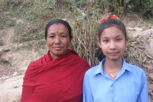 Sumina and her mom- Kumbeswor