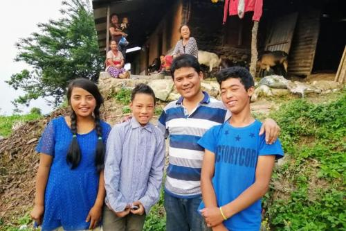 Sundar Sushil Home visit