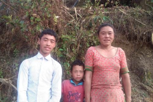 Sushil and Sundar Home visit-Kalika