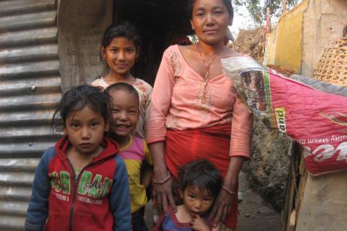 Usha and her siblings-mom-Gramindevi